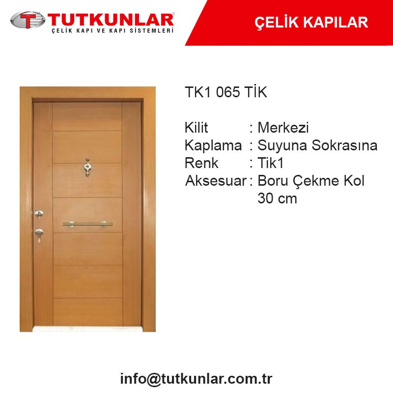 Çelik Kapı TK1 065 Tik