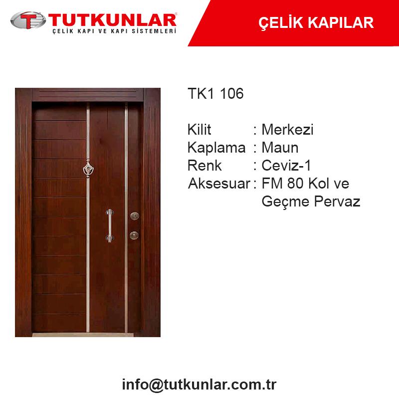 Çelik Kapı TK1 106