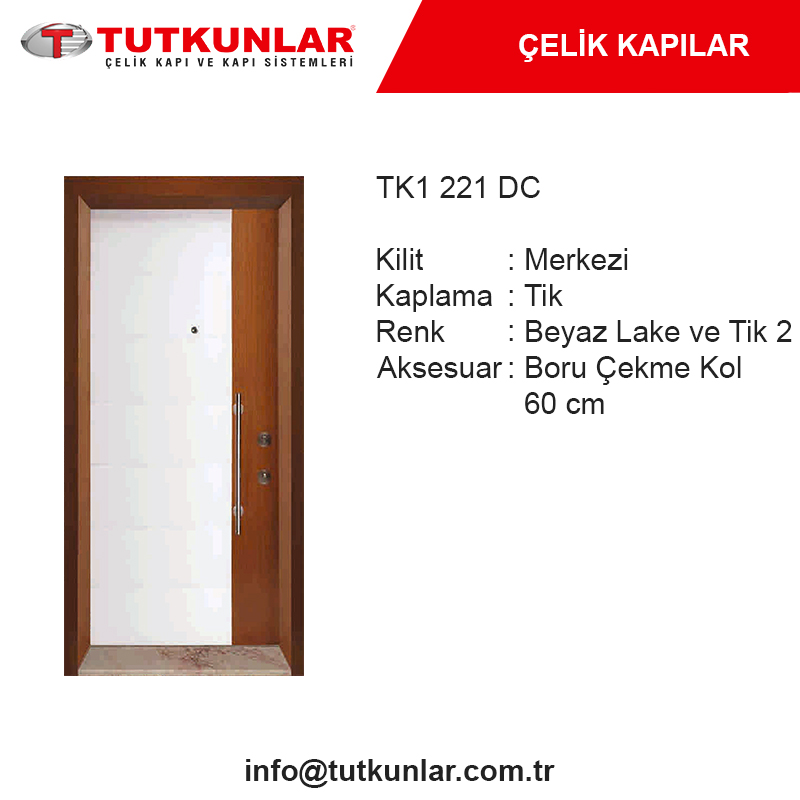 Çelik Kapı TK1 221 DC