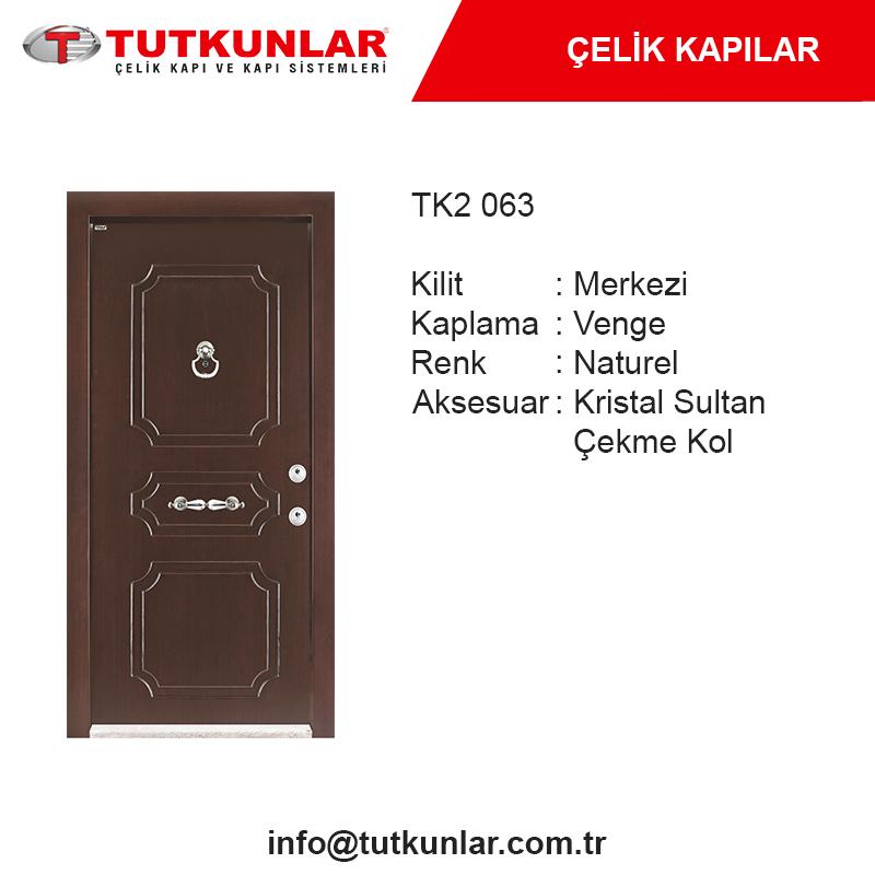 Çelik Kapı TK2 063