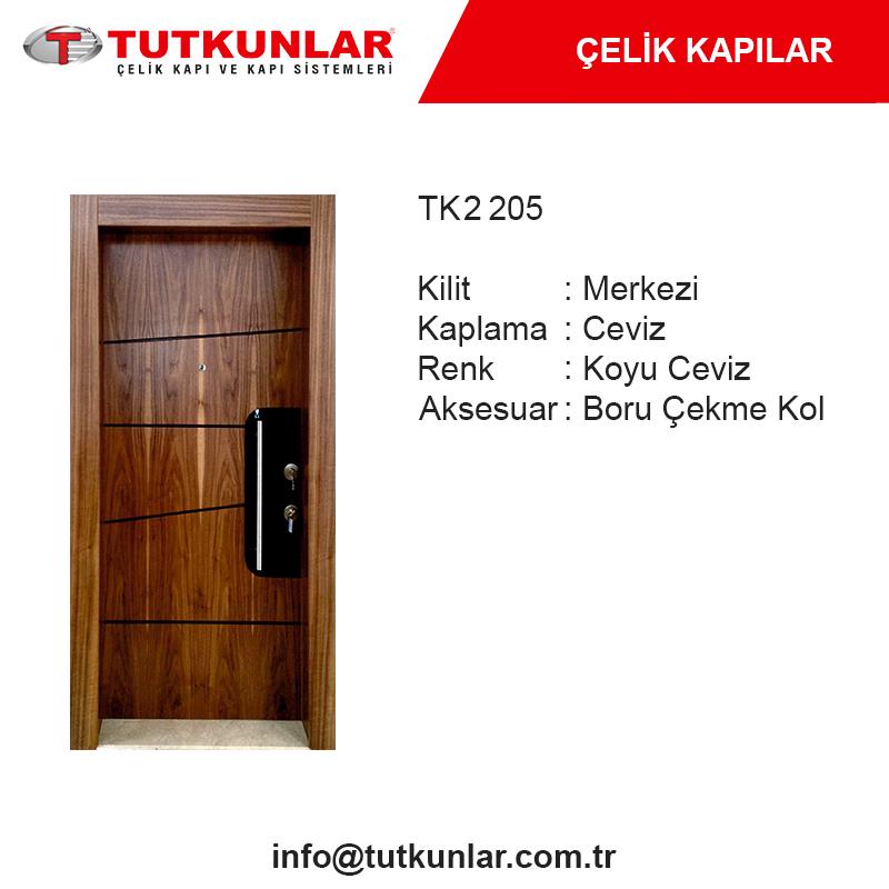 Çelik Kapı TK2 205