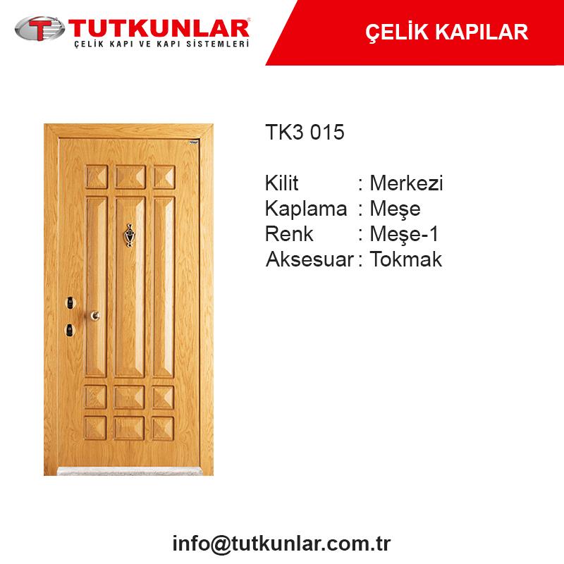 Çelik Kapı TK3 015
