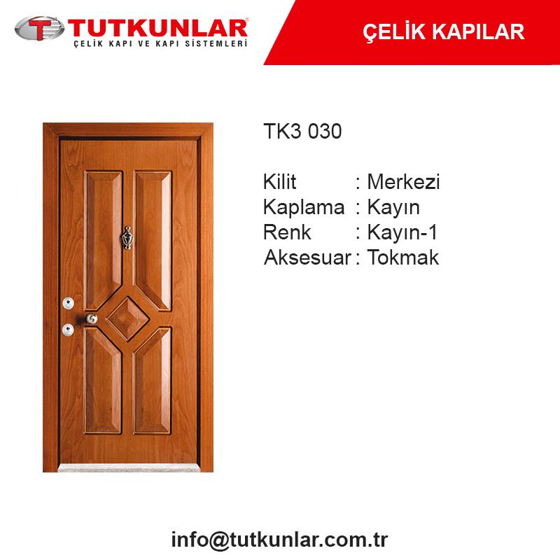 Çelik Kapı TK3 030