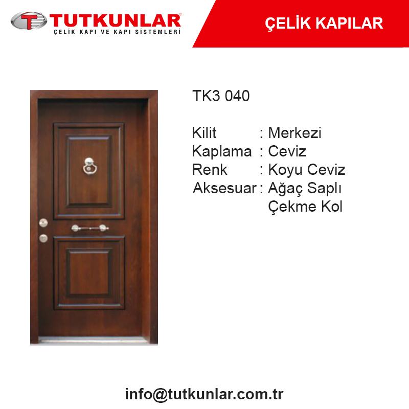 Çelik Kapı TK3 040