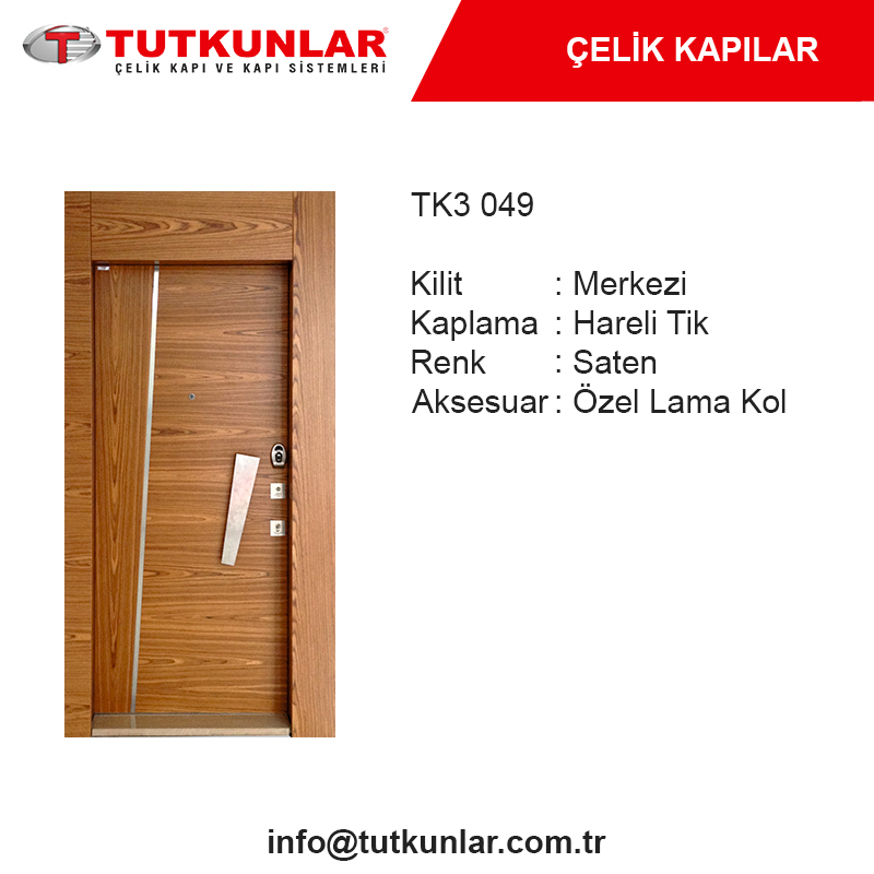Çelik Kapı TK3 049