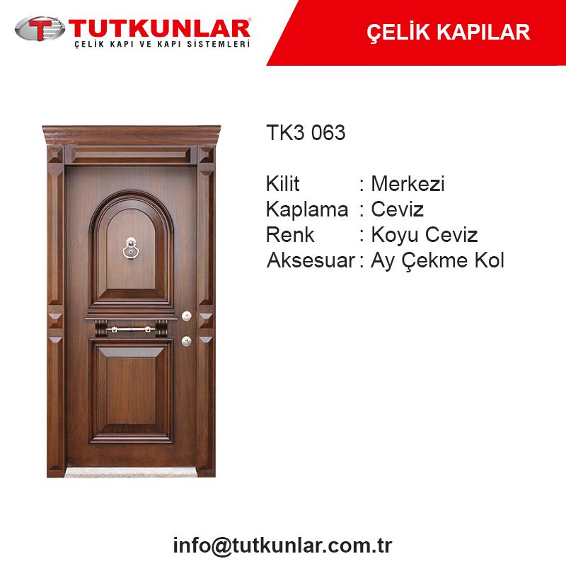 Çelik Kapı TK3 063