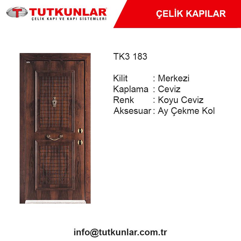 Çelik Kapı TK3 183
