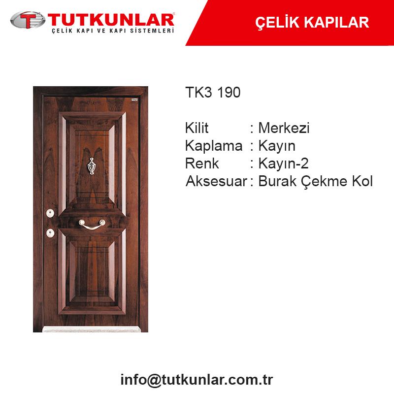 Çelik Kapı TK3 190