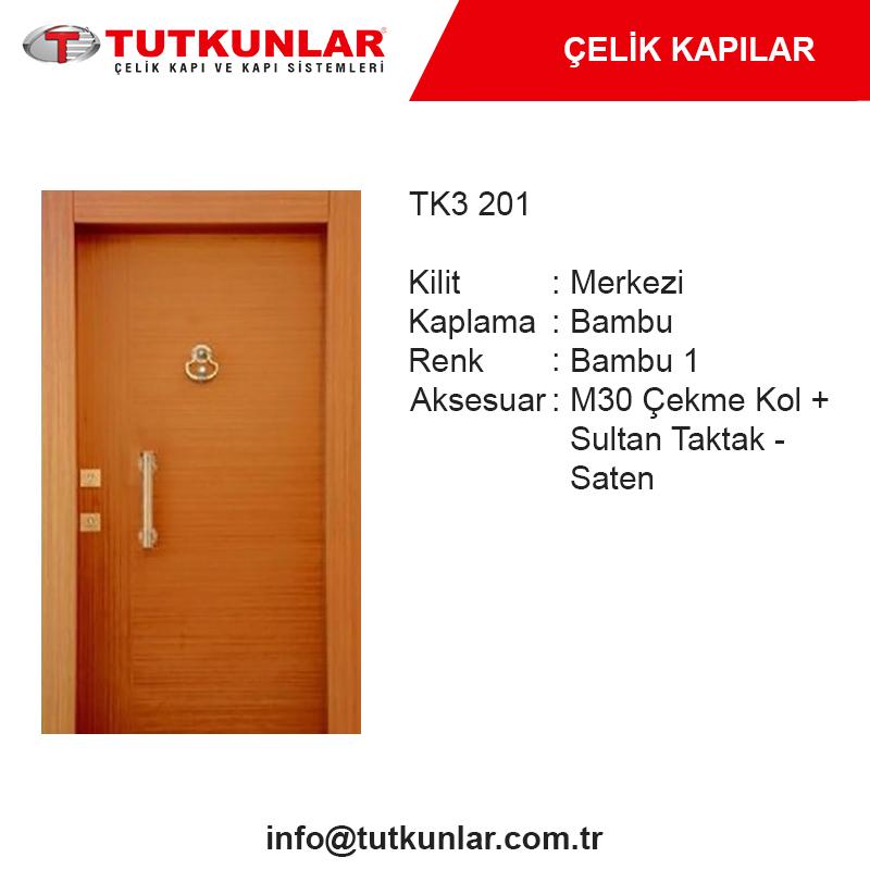 Çelik Kapı TK3 201