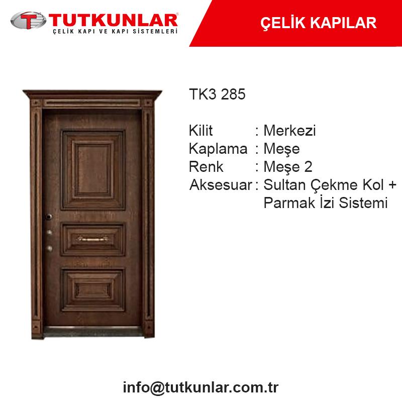 Çelik Kapı TK3 285
