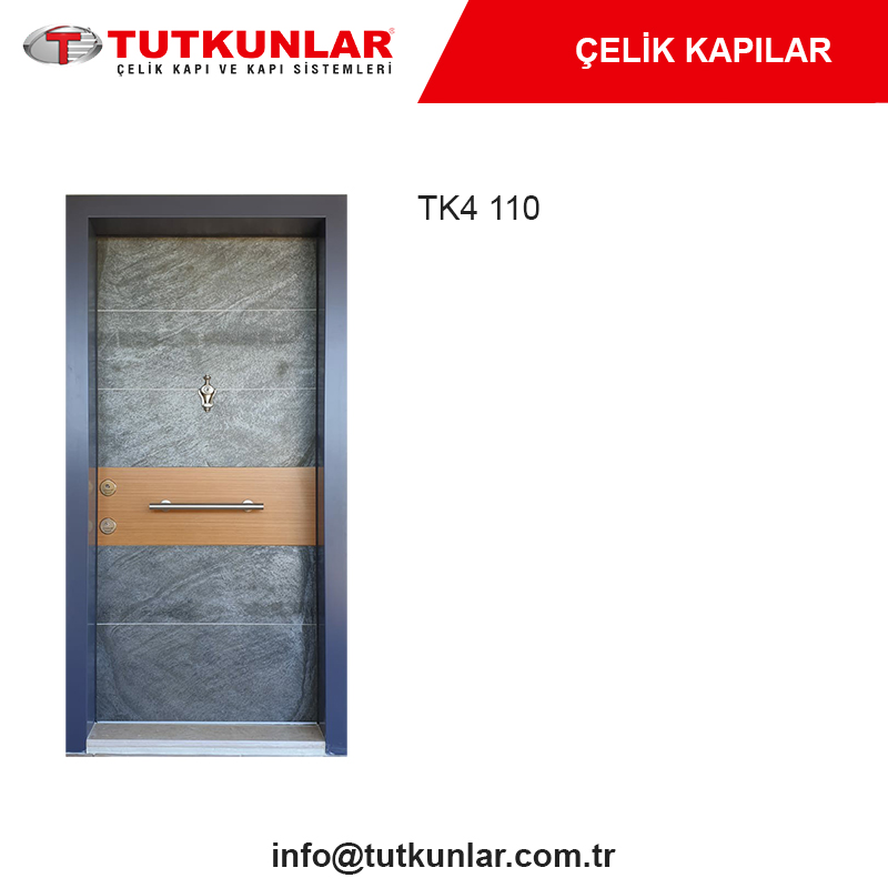 Çelik Kapı TK4 110