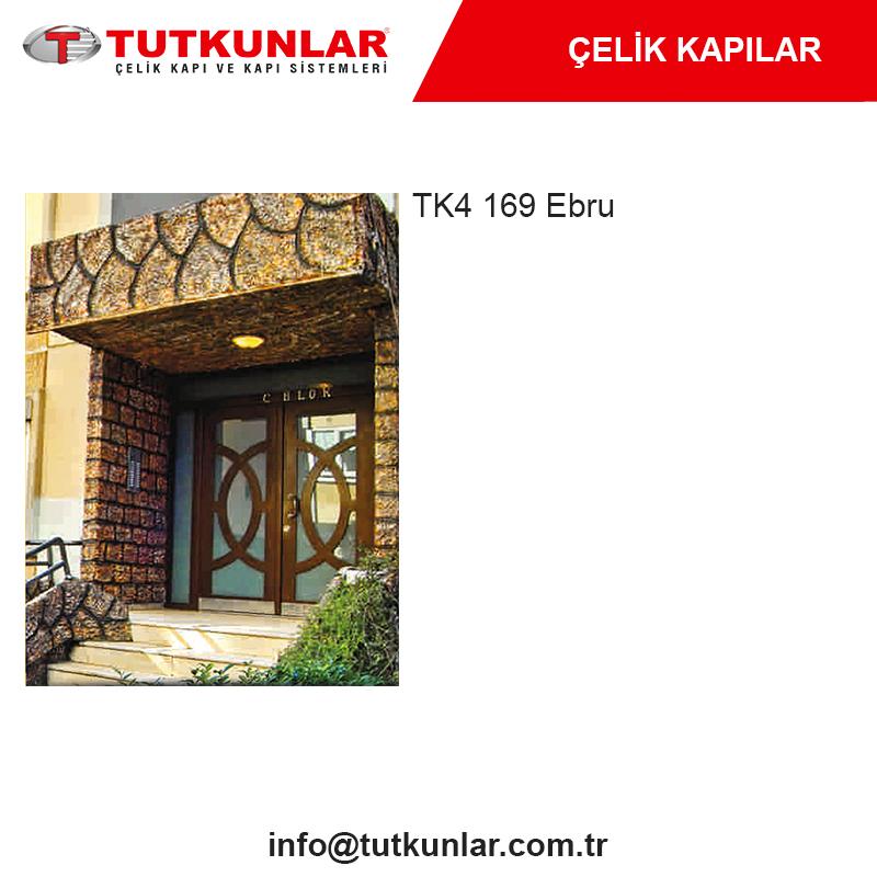 Çelik Kapı TK4 169 Ebru