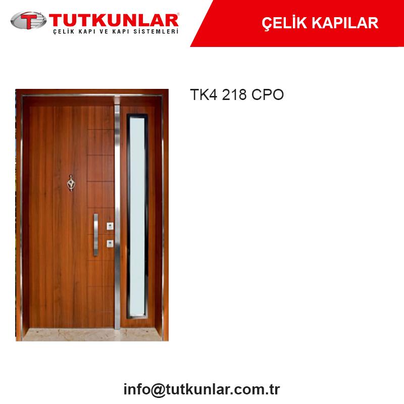 Çelik Kapı TK4 218 CPO
