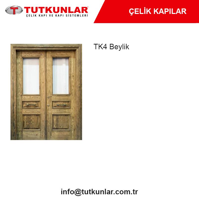 Çelik Kapı TK4 Beylik